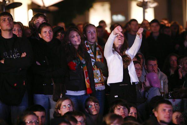 Lietuvos rinktinės sėkme džiaugėsi ir užsieniečiai