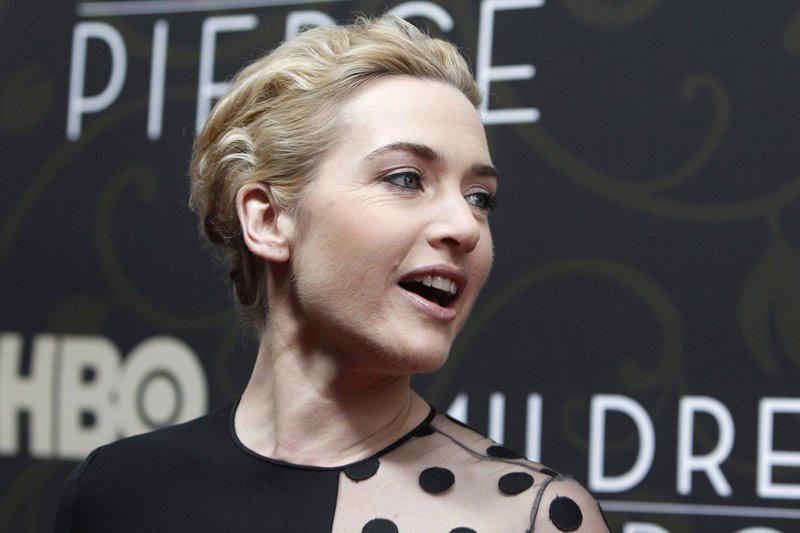 Britų aktorei Kate Winslet nesisekė suvaidinti vėmimo priepuolio
