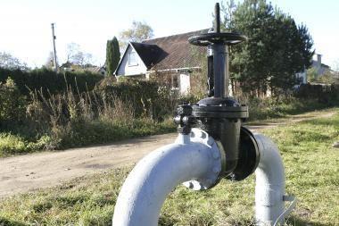 Dujų tiekimas Kleboniškyje dar nenutrauktas