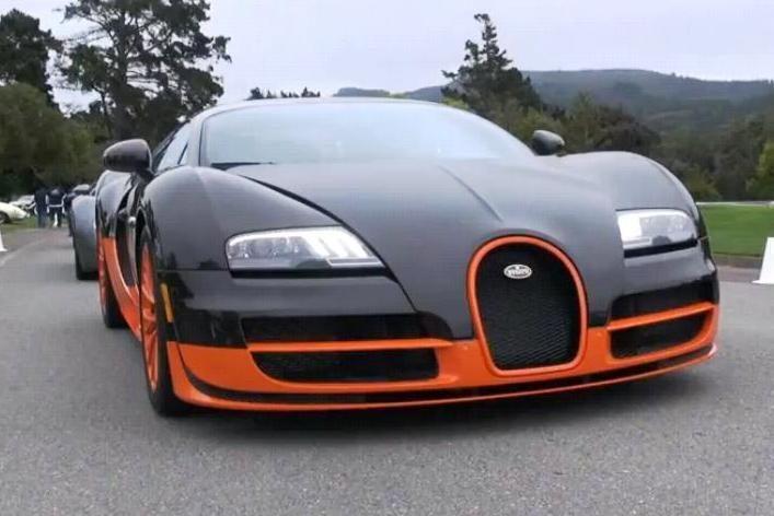 """Naujas, bet neoficialus """"Bugatti Veyron"""" rekordas"""