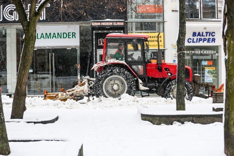 Meteorologė: šio sniego greitai nebeliks