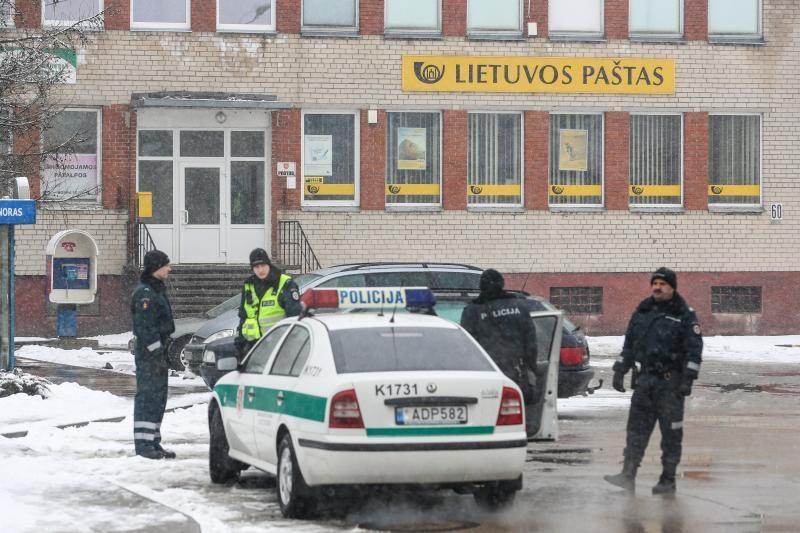 Evakuotas Garliavos paštas bei seniūnija, sprogmenų nerasta