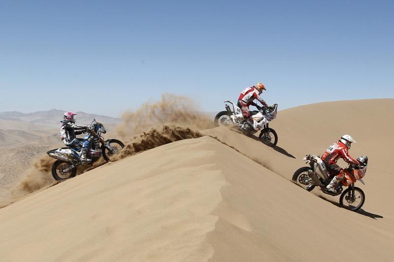 G.Igaris Dakaro ralyje kol kas 73 pozicijoje
