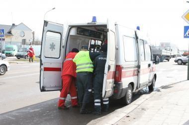 Avarijose Klaipėdoje nukentėjo dvi moterys