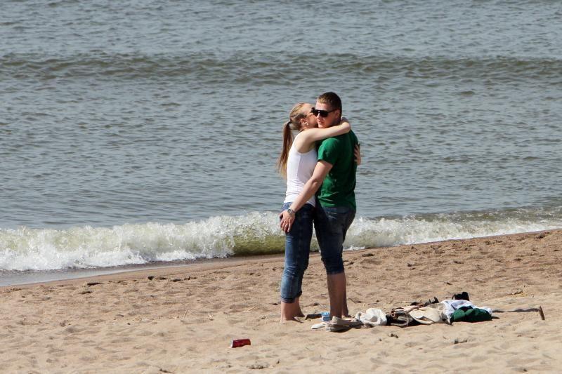 Klaipėdiečiai atidarė paplūdimių sezoną