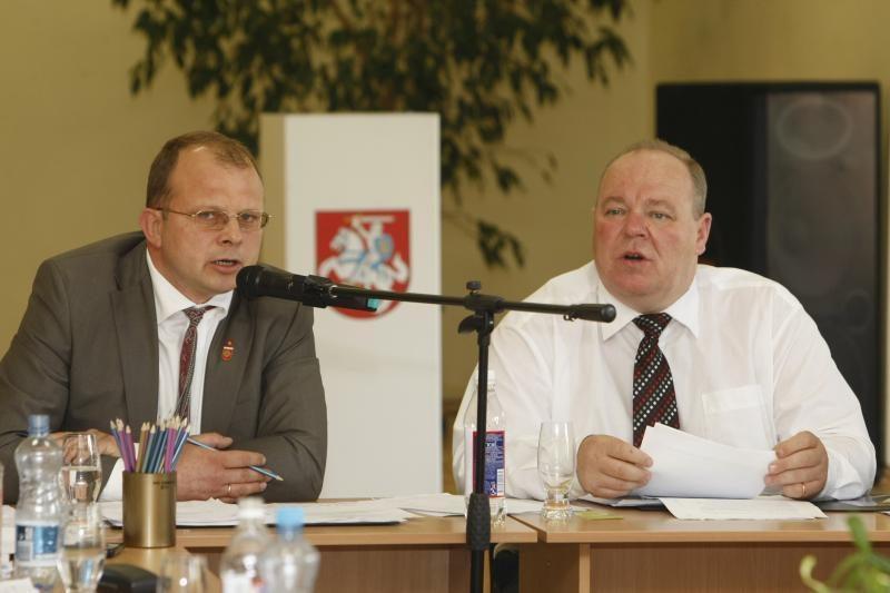 V.Dačkauskas grįžo vadovauti Klaipėdos rajonui