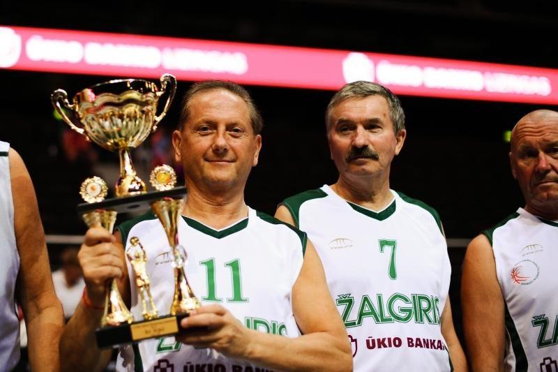 """""""Žalgirio"""" veteranai – Europos krepšinio čempionai"""
