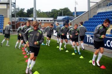 Jaunimo futbolo rinktinė grūdinsis Anglijoje