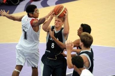 Lietuvos krepšininkų nesėkmė Jaunimo olimpinėse žaidynėse