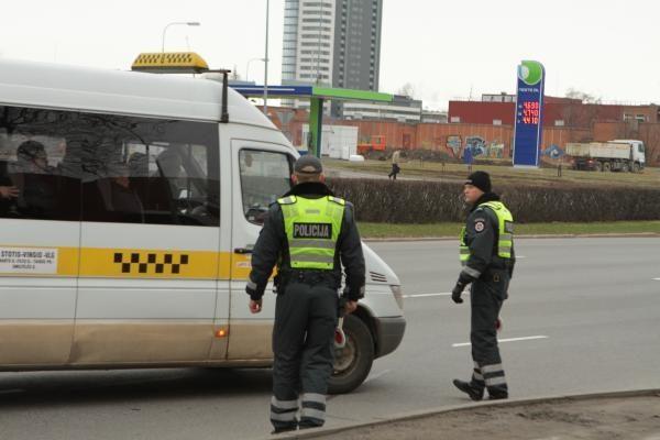 Pareigūnai per reidus uždarys Klaipėdos gatves
