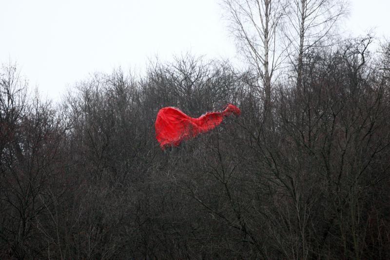 Kauno rajone parasparniu leidęsis vyras pakibo medyje