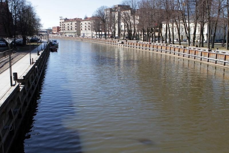 Klaipėdoje, Danės upėje rastas skenduolis