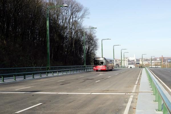 Atidarytas M.K.Čiurlionio tilto transporto mazgas (papildyta)