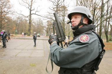 Viešojo saugumo tarnyba siekia perimti poligoną Kauno rajone