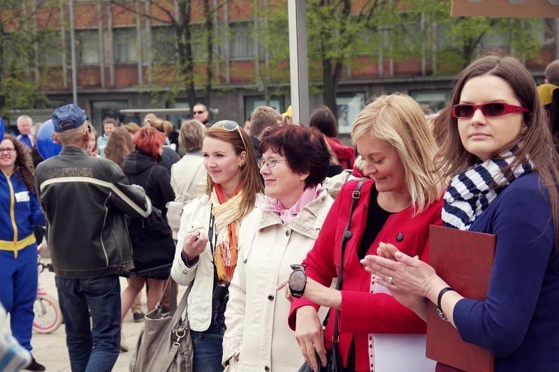 Klaipėdos centre – subatvakaris tarp kartų