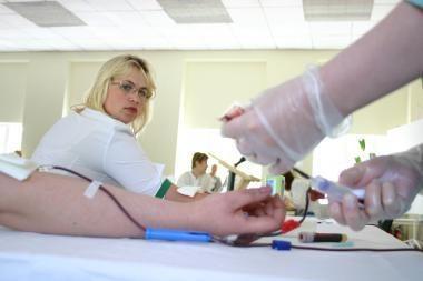 Gerumo dieną klaipėdiečiai kviečiami aukoti kraujo