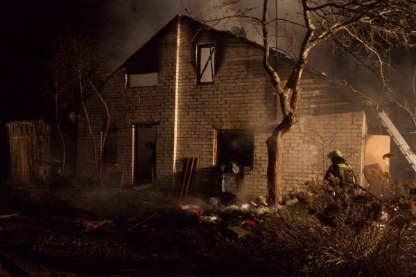 Vilniuje per gaisrą žuvo žmogus
