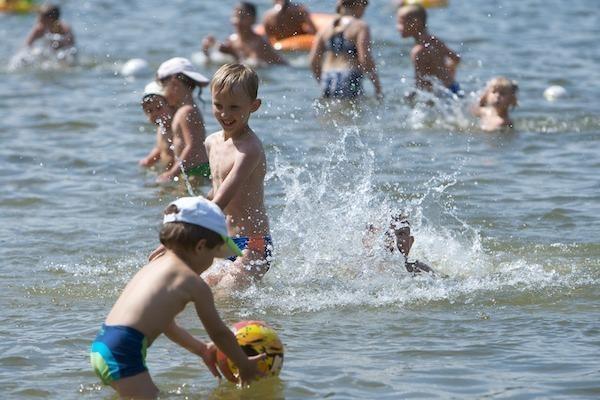 Ekspertai: iškart po liūties maudytis nepatartina