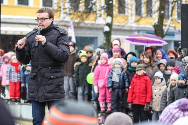 Velykų šventėje mažiesiems sveikino ir su Kalėdomis