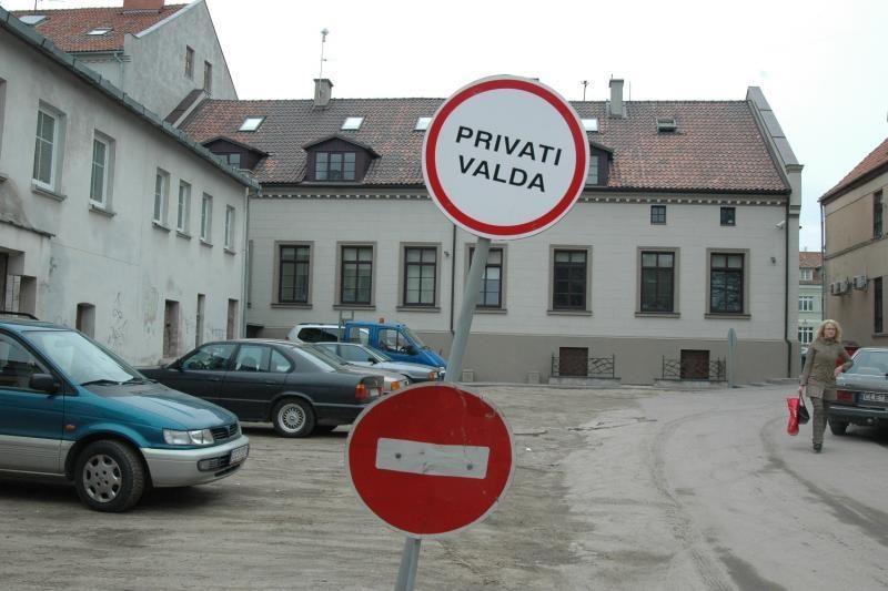 Gyvenamuosiuose Klaipėdos kvartaluose ieško vietų aikštelėms