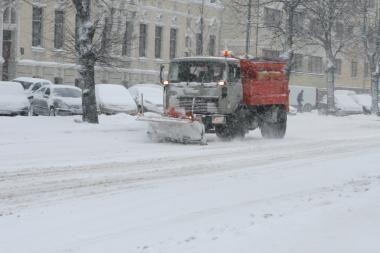 Savivaldybė: Klaipėda žiemos sezonui pasirengusi