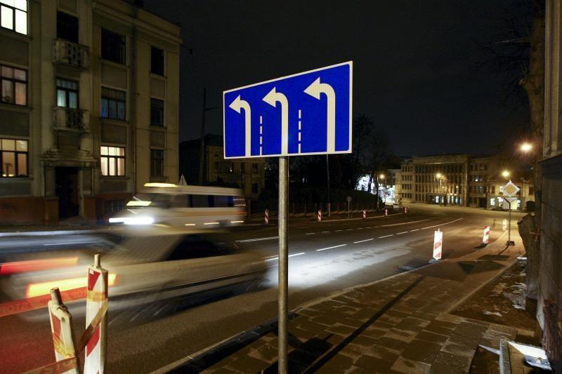 Išbandymas baigėsi: važiuoti Parodos gatve jau galima