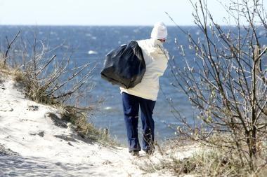 Neringiškiai kviečia tvarkyti Baltijos pajūrį
