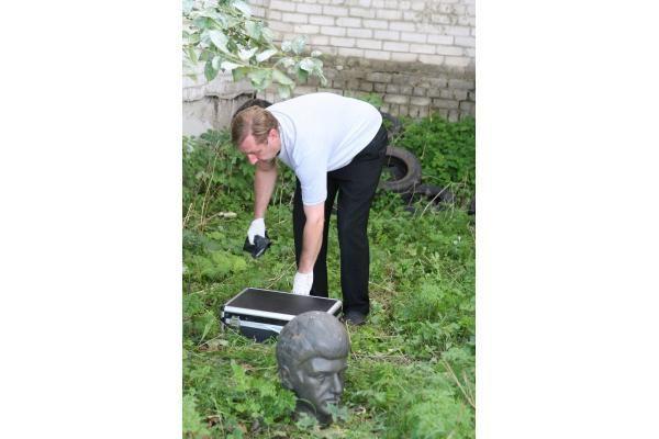 Bronzinės galvos nuo antkapių Klaipėdoje užminė mįslę