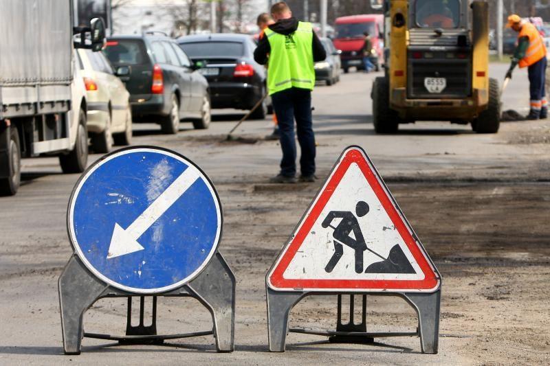 Žadama, kad iki pirmininkavimo ES Vilniaus gatvių remontas bus baigtas