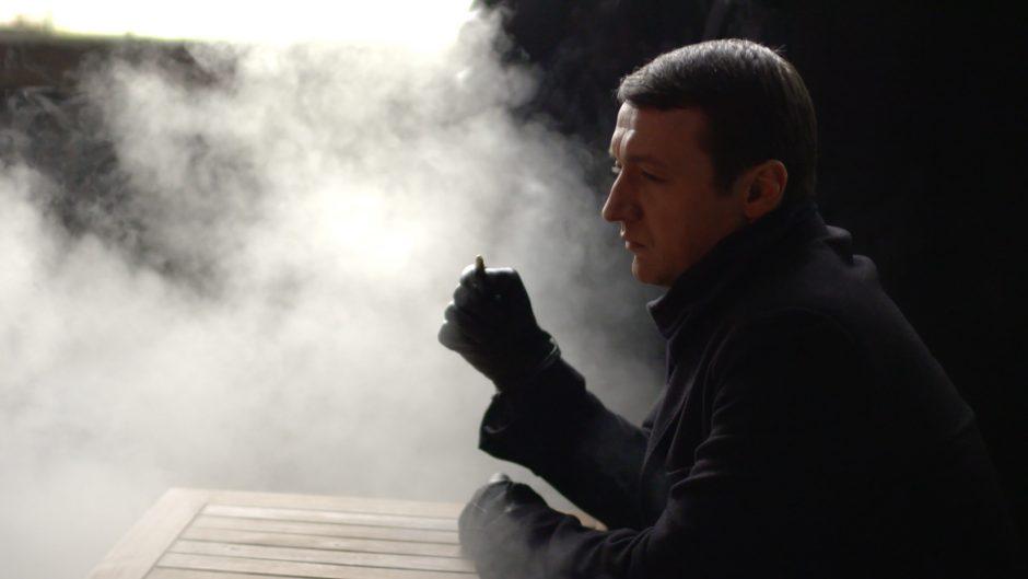 """""""Pasmerkti IV"""" režisierius R. Rudokas parodė juokingiausius nepavykusius kadrus"""