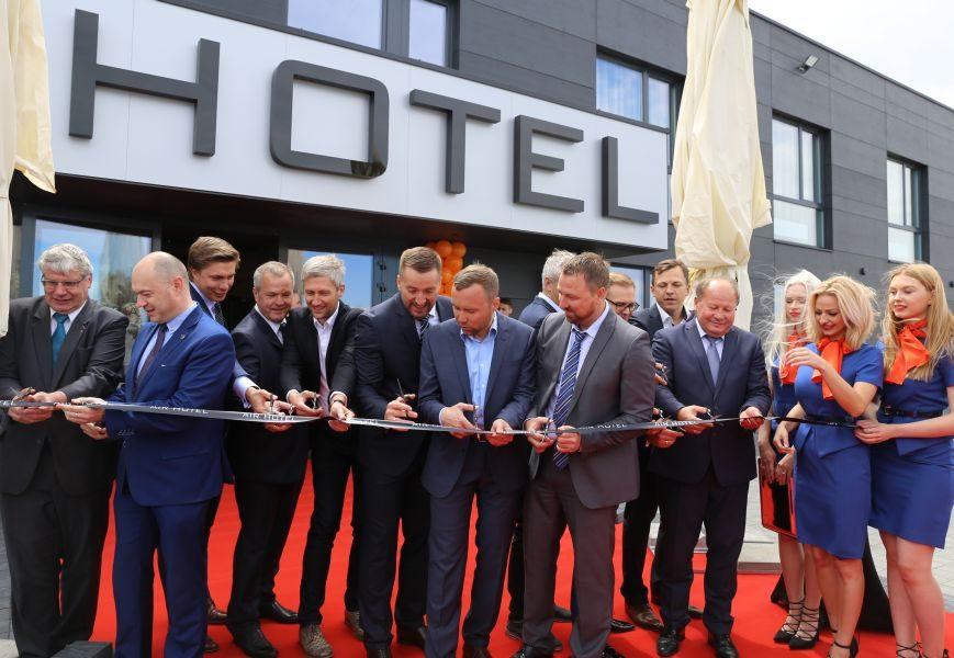 """Šalia Kauno oro uosto atidarytas viešbutis """"Airhotel"""""""