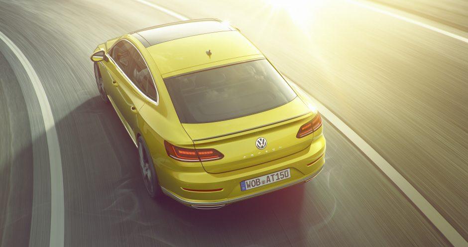 """Lietuvoje jau galima užsisakyti """"Volkswagen Arteon"""""""