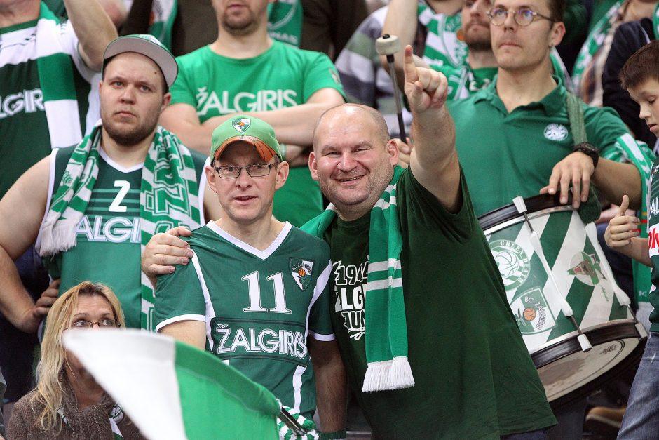 "Eurolyga: ""Žalgiris"" – ""Baskonia"" 77:97"