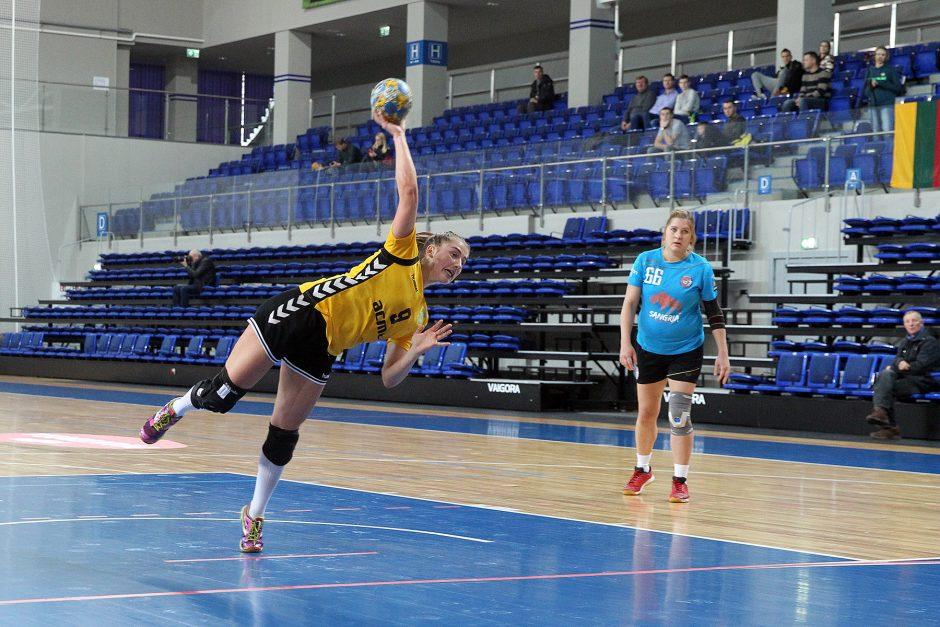 "EHF Challenge Cup: ""Žalgiris"" – Londono GD 42:13"