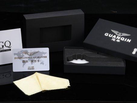Skelbimas - Patrauklus klasikinis GUANQIN laikrodis firminėje dėžutėje