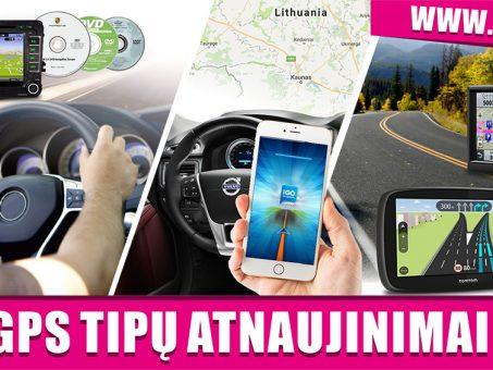 Skelbimas - GPS NAVIGACIJOS ŽEMĖLAPIŲ ATNAUJINIMAS, ĮDIEGIMAS NUO 10 EUR