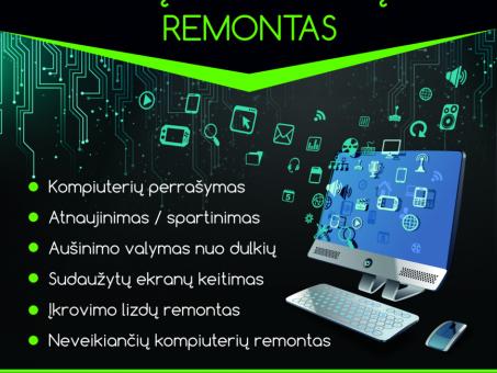 Skelbimas - Vilniaus Kompiuterių Remontas Fabijoniškėse, Šeškinėje