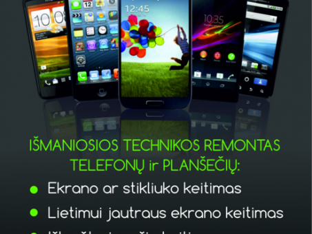 Skelbimas - Vilniaus Telefonų Remontas Fabijoniškėse, Šeškinėje