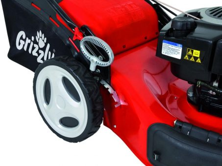 Skelbimas - Benzininė savaeigė vejapjovė 2,61 kW Grizzly BRM 56-161 BSA