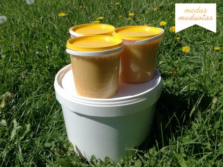 Skelbimas - Medus meduotas! natūralus lietuviškas medus