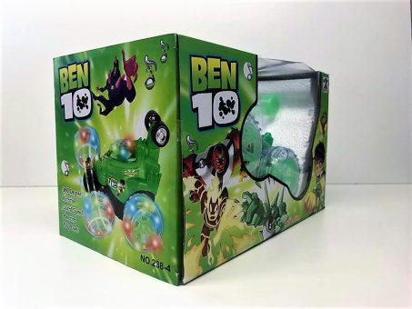 Skelbimas - Nauja radijo bangomis valdoma Ben 10 mašinėlė!