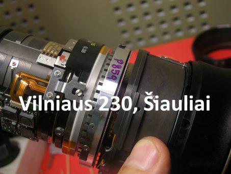 Skelbimas - VISŲ fotoaparatų / vaizdo kamerų REMONTAS