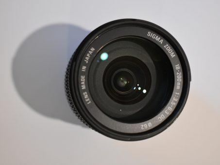 """Skelbimas - Nikon objektyvas """"Sigma"""""""