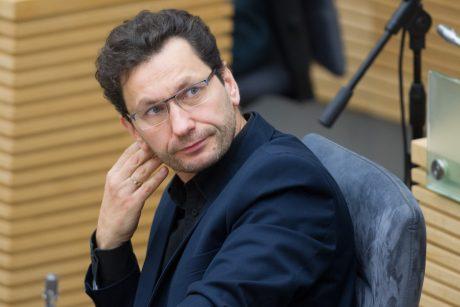 Seimo narys R. Šarknickas staiga atsidūrė ligoninėje