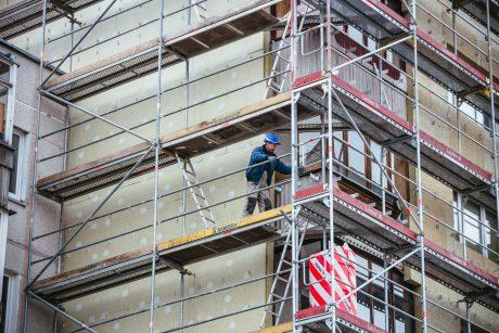 Įtarimai įvykdyta vagyste – namo renovuotojams