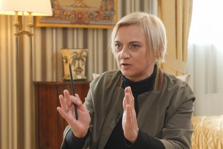 Aktorė V. Mockevičiūtė ieško žilstelėjusio turtingo vyro