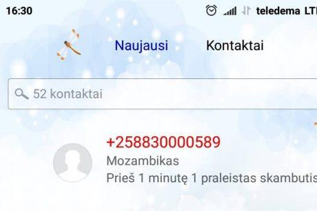 Lietuviai gali atsipūsti: dėl sukčių iš Mozambiko skambučių gyventojai žalos nepatirs