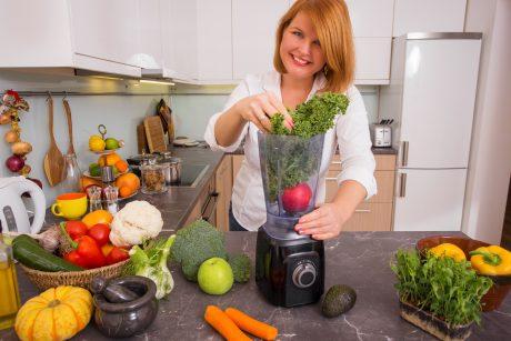 Žalieji kokteiliai – sveikuoliška mada (receptai)