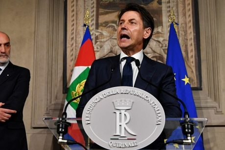 G. Conte atsisakė vadovauti Italijos vyriausybei