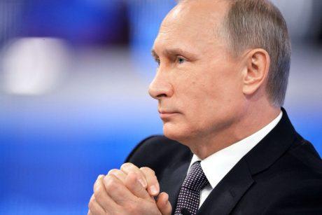 V. Putinas spaudžia Baltarusiją dėl krovinių tranzito Baltijos šalyse